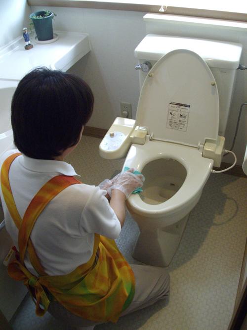 トイレ掃除 静岡