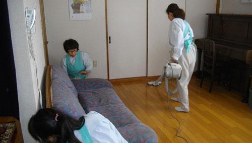 ミニメイドサービス静岡店の家事代行の様子「5つの事例」